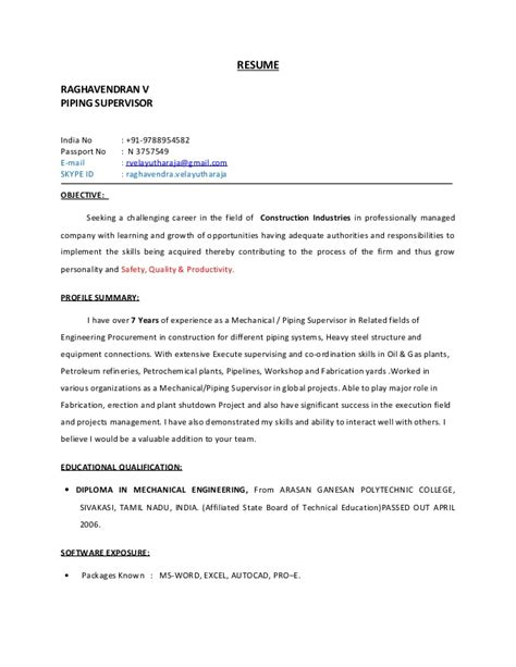 Construction manager resume sample  Copiers-appears gq